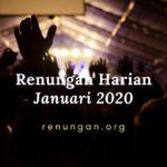 Renungan harian Januari 2020