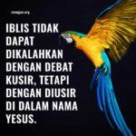 04 Juni Renungan Harian – Jangan Berdebat Dengan Setan!