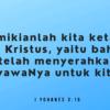Renungan Harian Kristen 14 Januari 2021